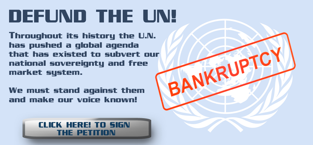Defund the UN